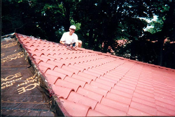 The Following Photo Is The Slate Roof Restoration At The